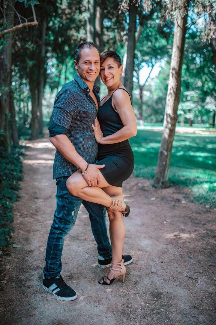 RICARDO Y AURORA FOTO ESTUDIO EXTERIOR