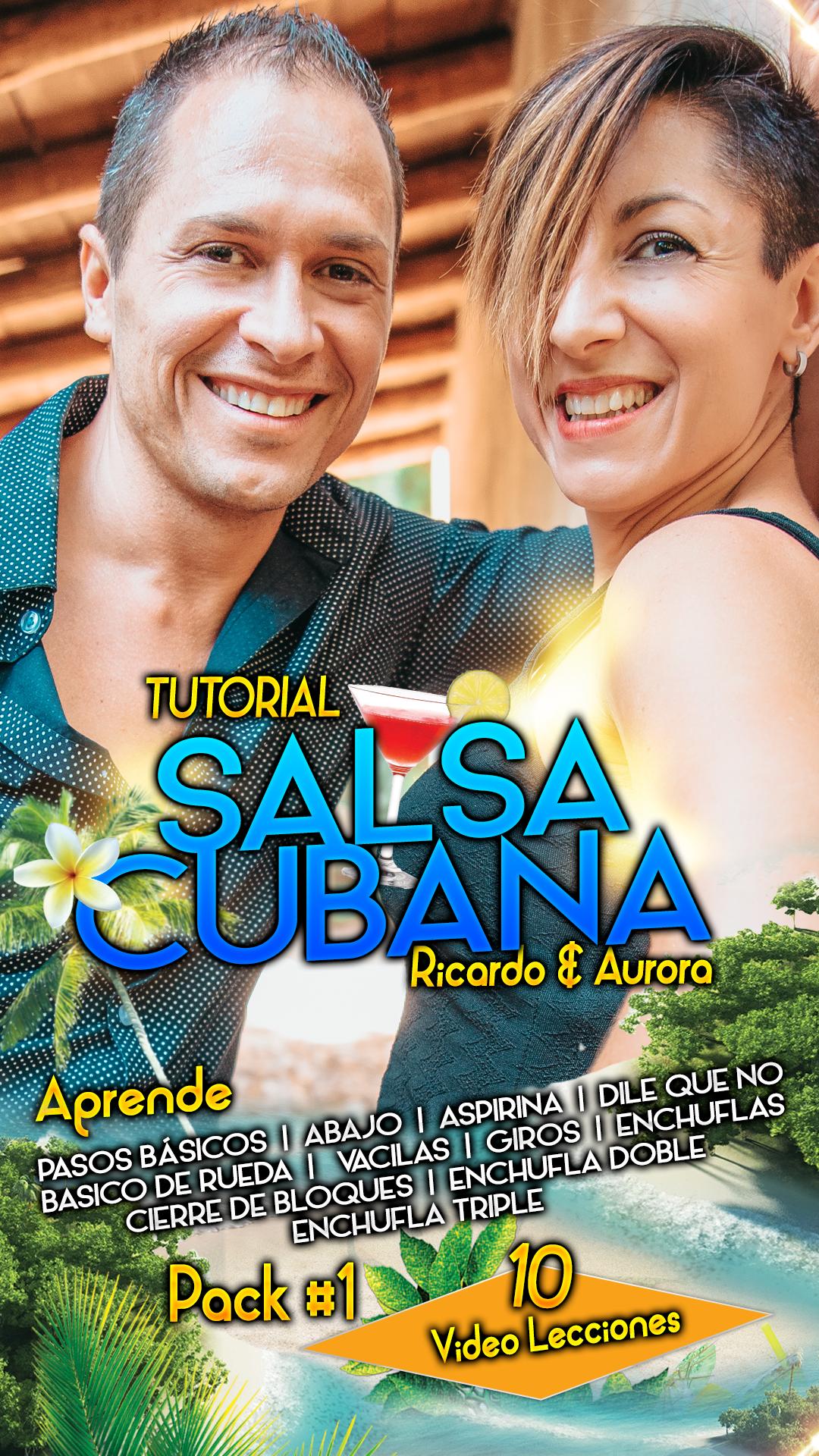 SALSA CUBANA nivel 0 pack 1