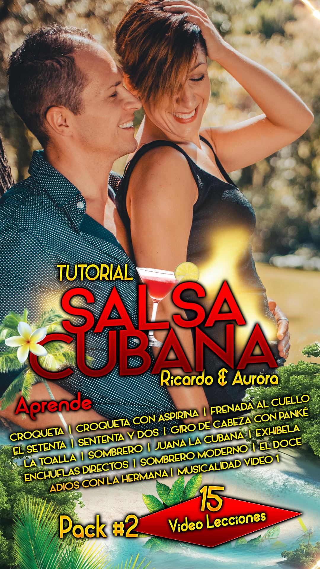 SALSA CUBANA nivel 0 pack 2